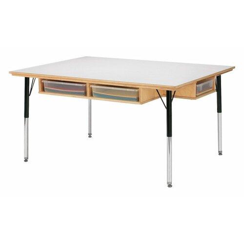 Jonti-Craft Table w/ Storage - 6
