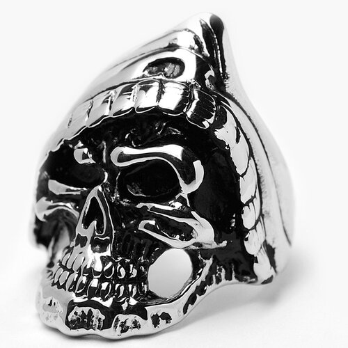 Bonndorf Laboratories Men's Stainless Steel Casted Skull Ring