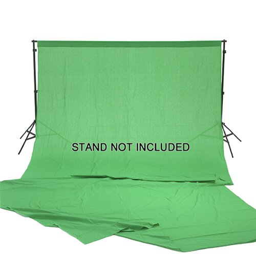 Square Perfect Chromakey Green Screen Muslin Photography / Video