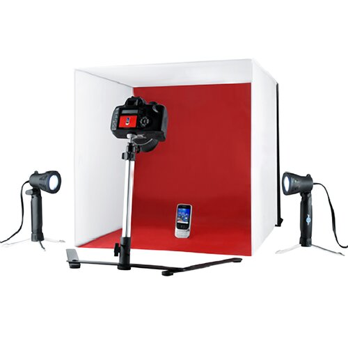 Shutter Starz Studio ProPhotoz Kit Light Cube