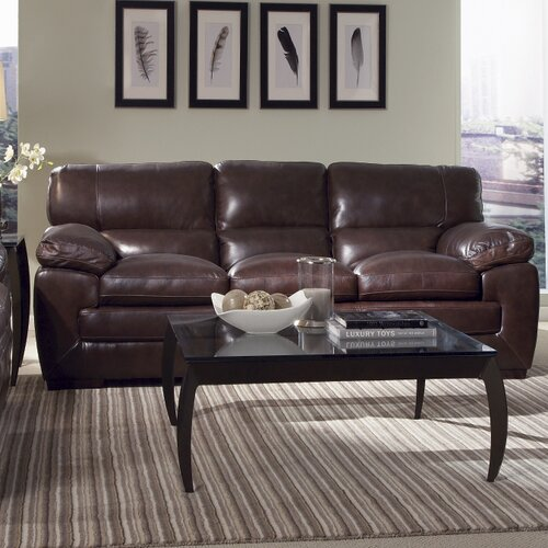 Simon Li Biscayne Leather Sofa