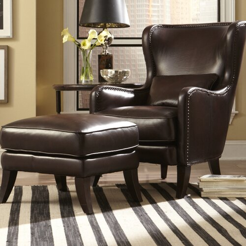 Huntly Chair and Ottoman