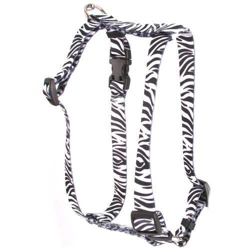 Yellow Dog Design Zebra Roman Harness