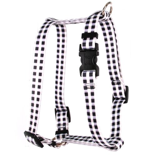 Yellow Dog Design Gingham Roman Harness