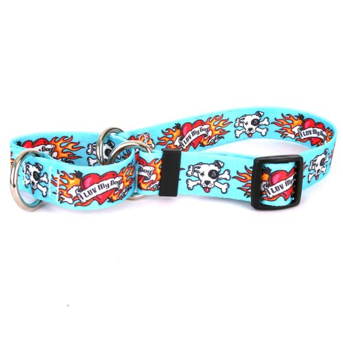 I Luv My Dog Martingale Collar