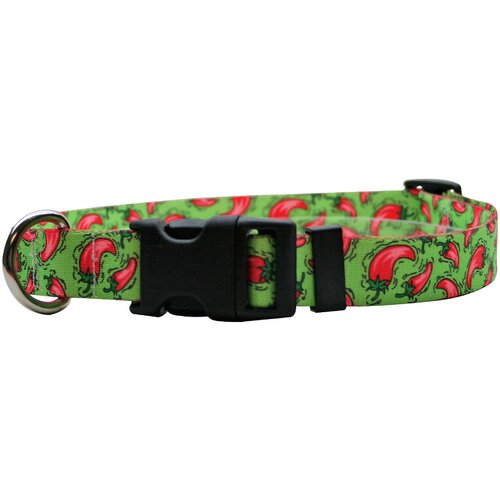 Yellow Dog Design Hot Peppers Standard Collar
