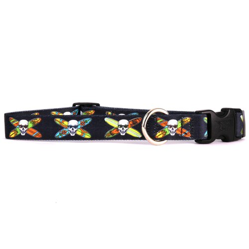 Yellow Dog Design Longboard Skulls Standard Collar