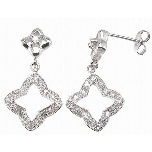 Plutus Partners Brilliant Cut Cubic Zirconium Fashion Drop Earrings