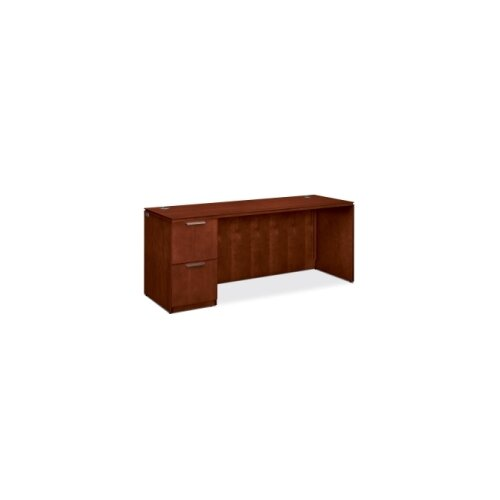 HON Arrive Single Executive Desk with 2 Drawer
