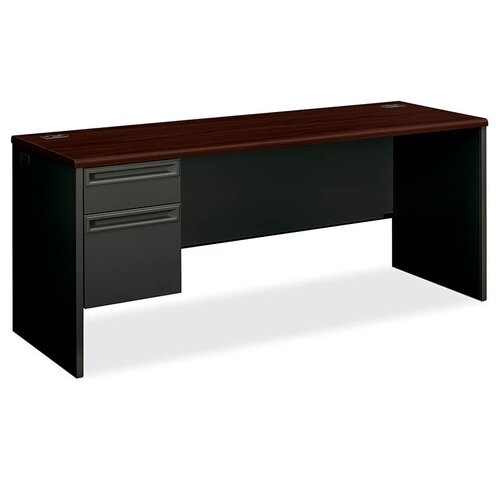 HON 38000 Series Executive Desk with 1 File and 1 Box Drawer