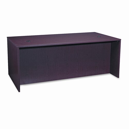 HON Basyx Bl Laminate Series Rectangular Desk Shell