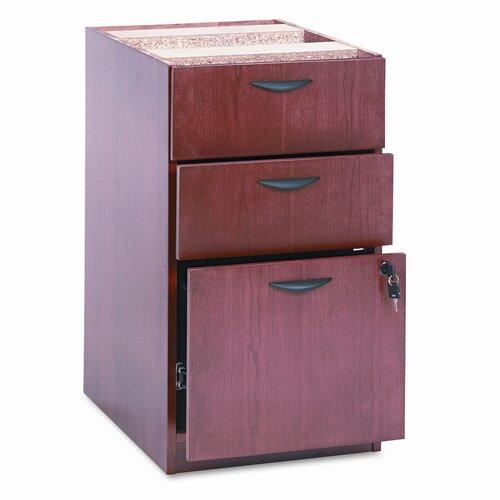 HON Basyx Bw Veneer Box/Box/File Pedestal File