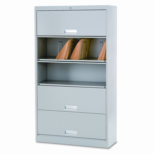 HON 600 Series 5-Drawer Letter  File