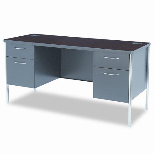 HON Metro Classic Double Pedestal Desk