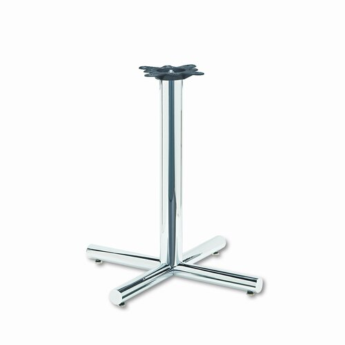 HON Single Column Steel Base, 26W X 26D X 27-7/8H