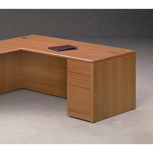 HON 10700 Series Right Pedestal Executive Desk