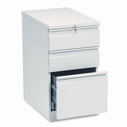 HON Mobile 3-Drawer Efficiencies Series Box/File Pedestal