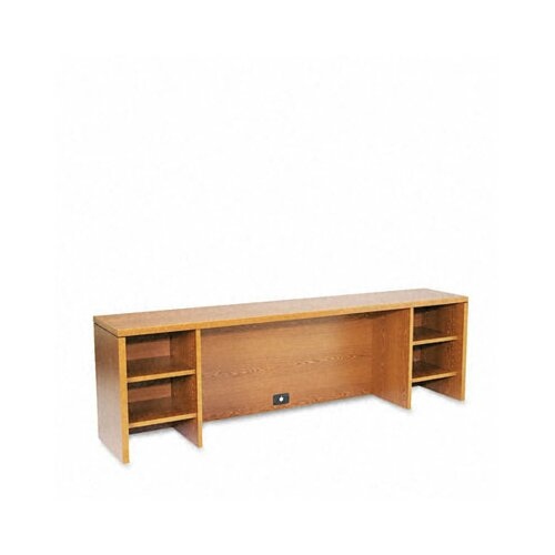 "HON Stack-On PC 22"" H x 72"" W Desk Hutch"