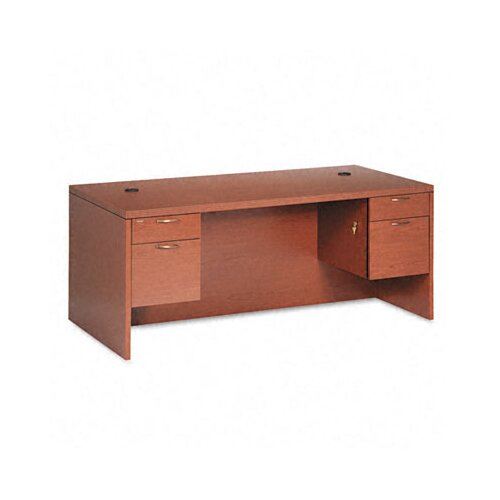 HON 11500 Series Valido Executive Desk with Double Pedestal
