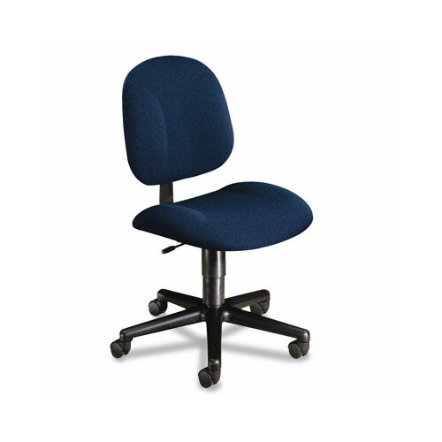 HON Every-Day Series Swivel-Back Pivot Task Chair, Olefin Fabric, Blue