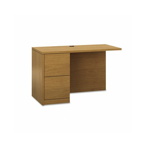 HON 10500 Series Workstation Full-Height Pedestal Desk Return