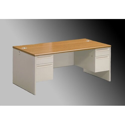 HON 38000 Series Executive Desk 2 File and 2 Box Drawers