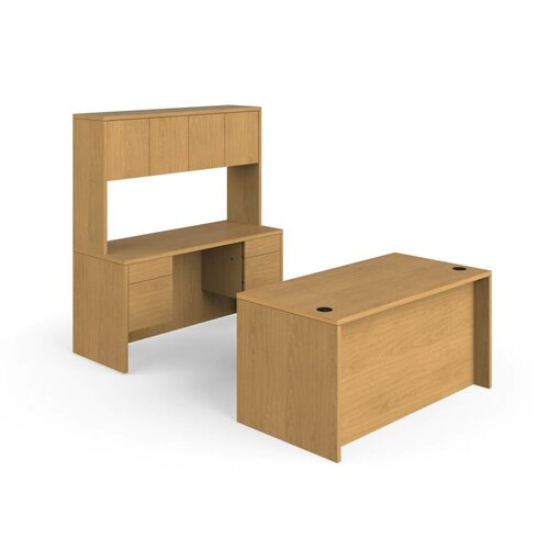 HON 10500 Series Desk Credenza with Stack On Storage
