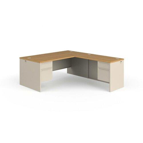 HON 38000 Series L-Shaped Desk Workstation