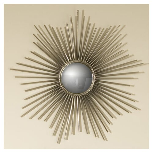 Global Views Mini Sunburst Mirror