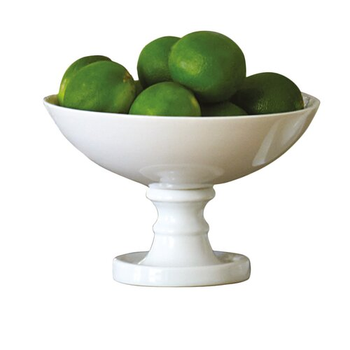 Global Views Grande Footed Bowl: Coquilles Grand Conch Shell Fruit Bowl