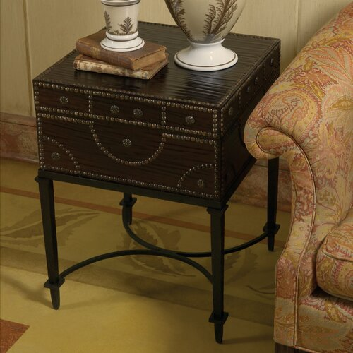 Global Views Document Box End Table