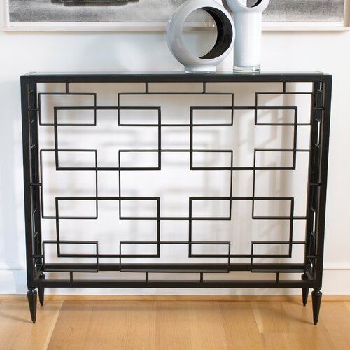 Open Block Console Table
