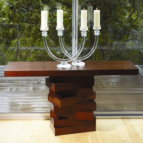 Stacking Block Console Table