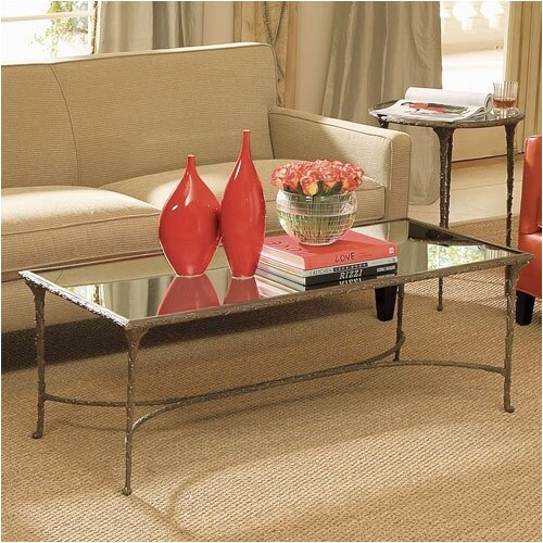 Enjoy a Drink in Style Organic Coffee Table