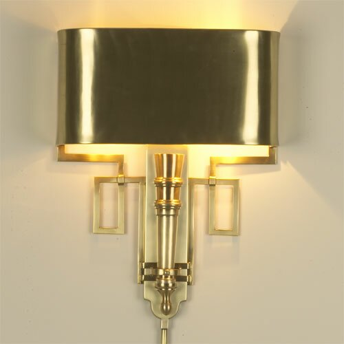 Torch 2 Light Wall Sconce Wayfair