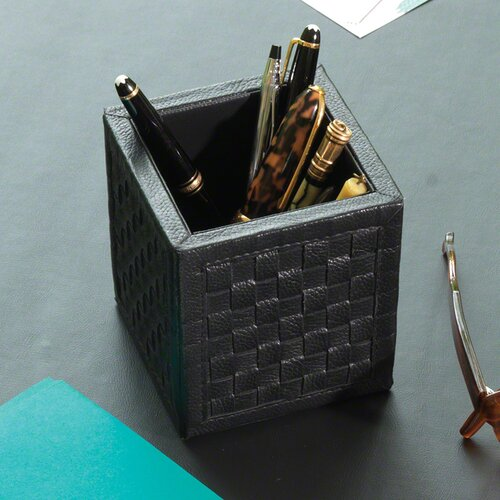 Global Views Woven Pencil Cup