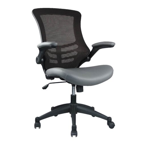 Manhattan Comfort Luxurious High Back Mesh Office Chair With Casters