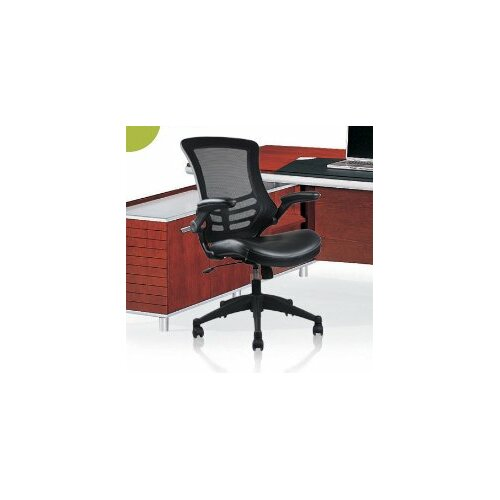 Rugged High-Back Mesh Office Chair with Wheels