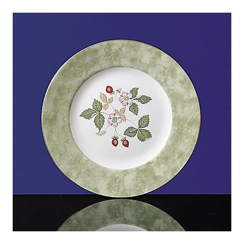 "Wedgwood Wild Strawberry 8"" Accent Salad Plate"