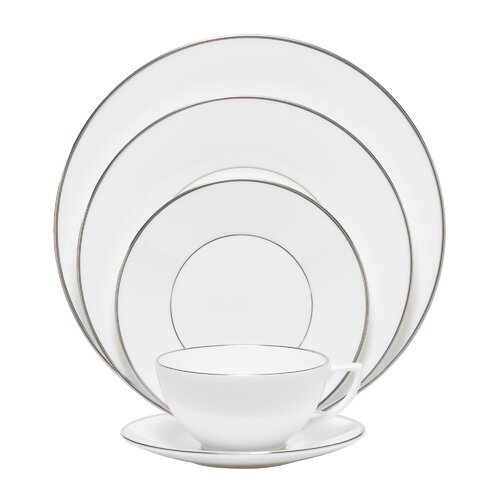 Wedgwood Platinum 5 Piece Place Setting