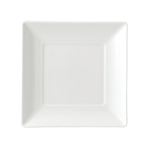 """Wedgwood Ashlar White Square 5.8"""" Bread and Butter Plate"""