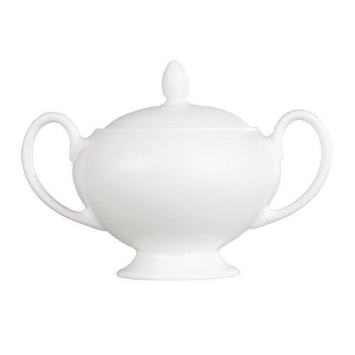 Wedgwood White Leigh Sugar Bowl
