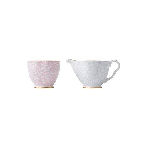 Wedgwood Harlequin Cuckoo Creamer and Sugar Bowl