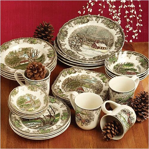 Johnson Brothers Friendly Village 5 Piece Place Setting