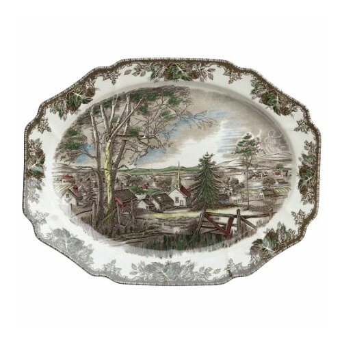 Johnson Brothers Friendly Village Oval Platter