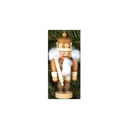 Natural Wood Mini King Nutcracker