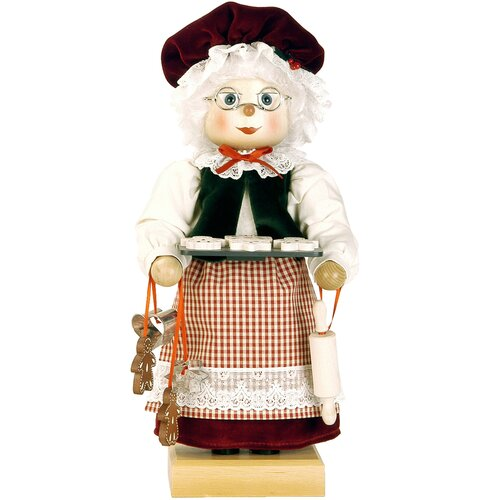 Christian Ulbricht Mrs. Claus Nutcracker