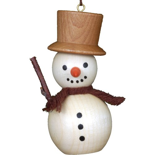 Christian Ulbricht Snowman Ornament