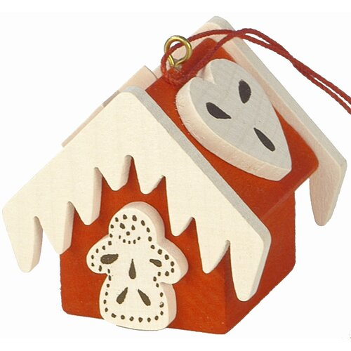 Christian Ulbricht Gingerbread House Ornament