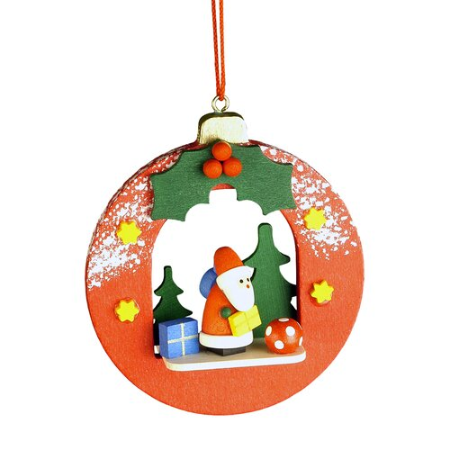 Christian Ulbricht Santa Ball Ornament